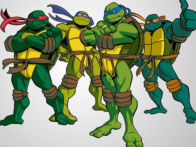 Имена для черепах
