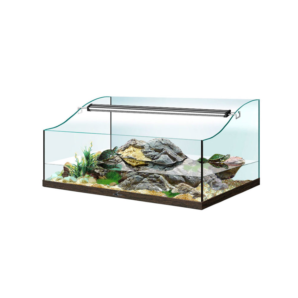 Как сделать островок или берег для водных видов черепах