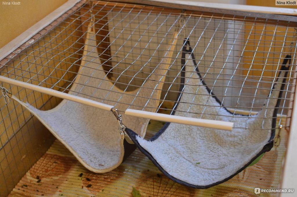 Как сделать гамак для шиншиллы своими руками