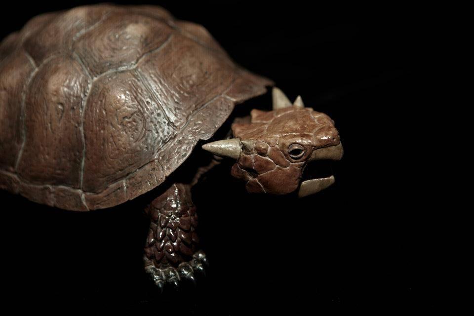 Мейолания – рогатая австралийская черепаха