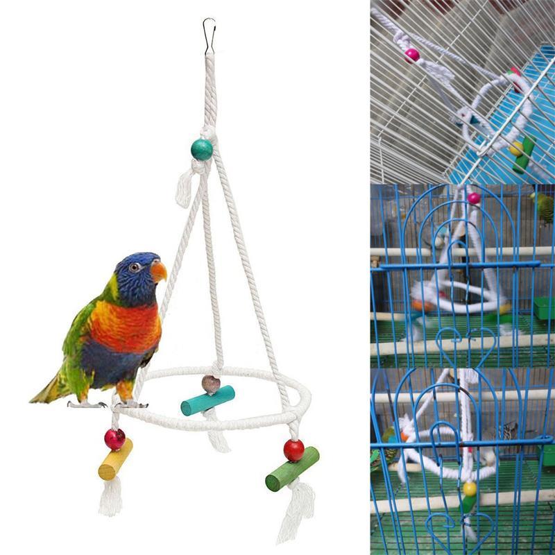 Как сделать игрушки для волнистых попугаев