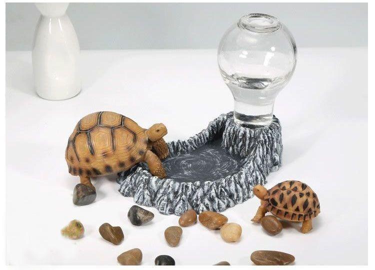 Поилки и кормушки для черепах
