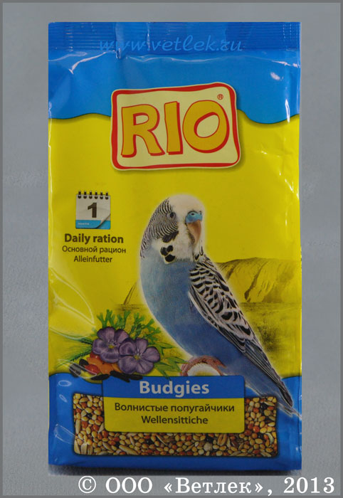 Лучший корм для волнистых попугаев: наш рейтинг