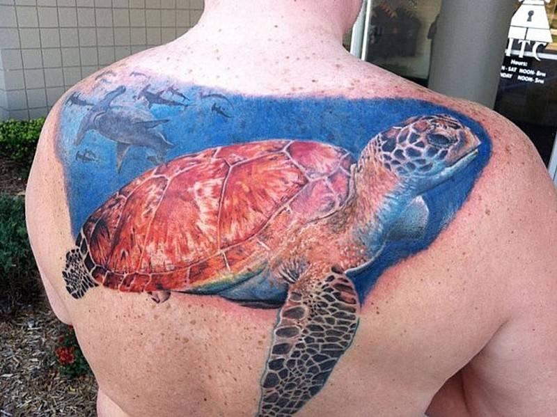 Черепаха тату полинезия значение