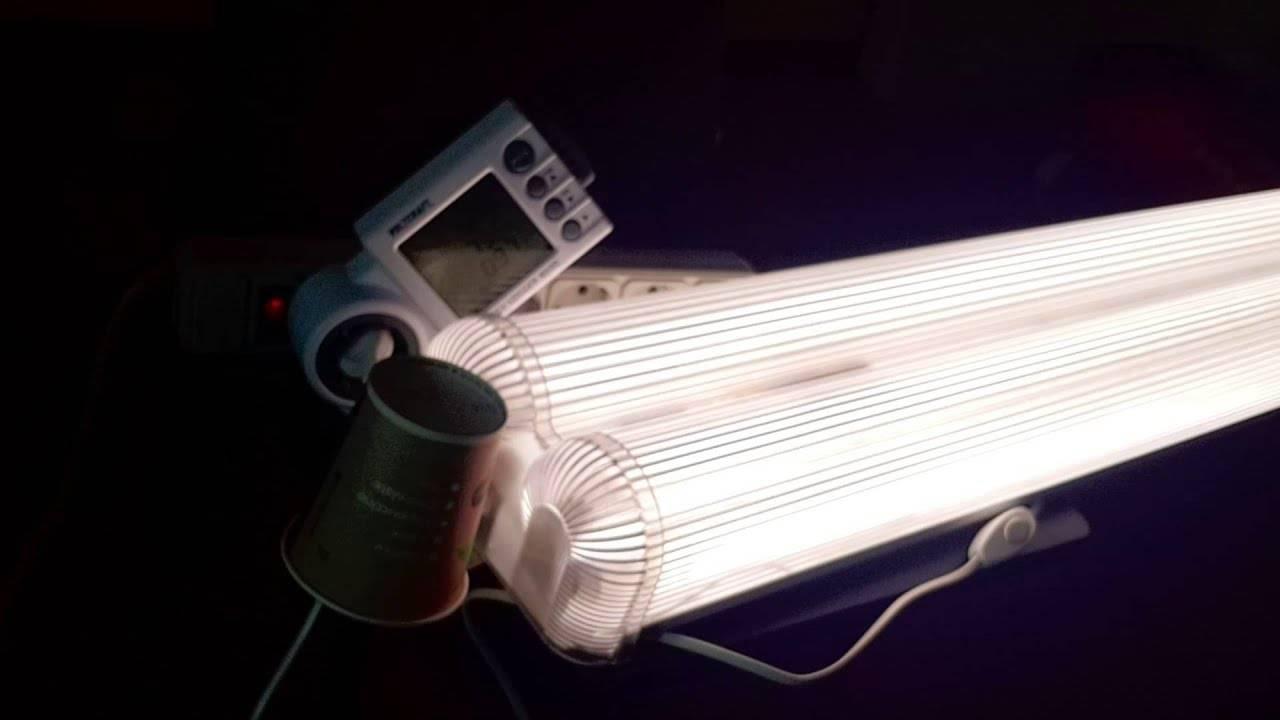 Как сделать самодельный светильник на светодиодах