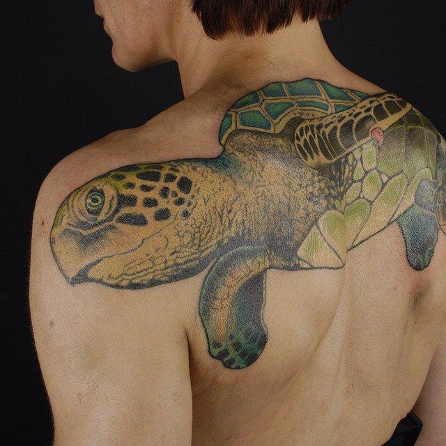 Значение тату черепаха