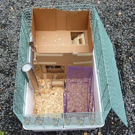 Как сделать домик для хомяка своими руками?